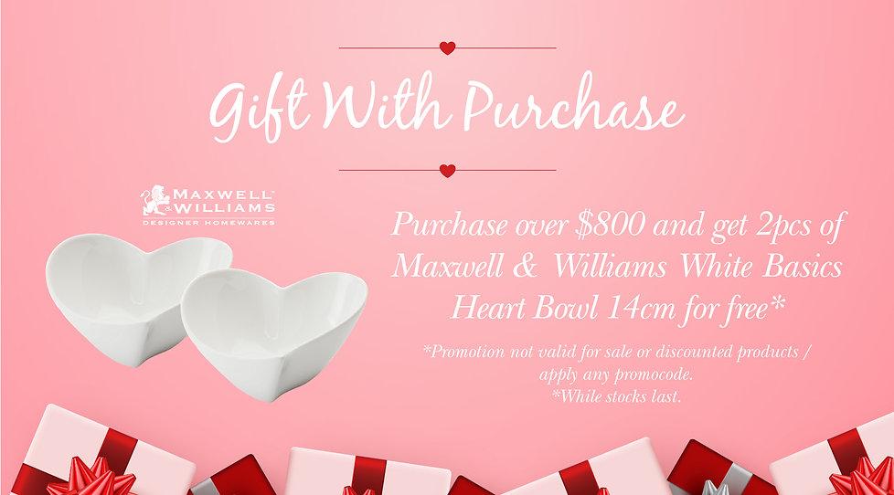 Web banner (Winter Sale, Valentine's Day