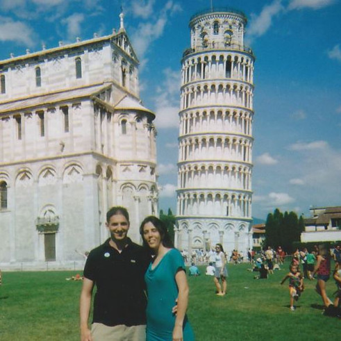 Visiting the Leaning Tower of Pisa in Italy