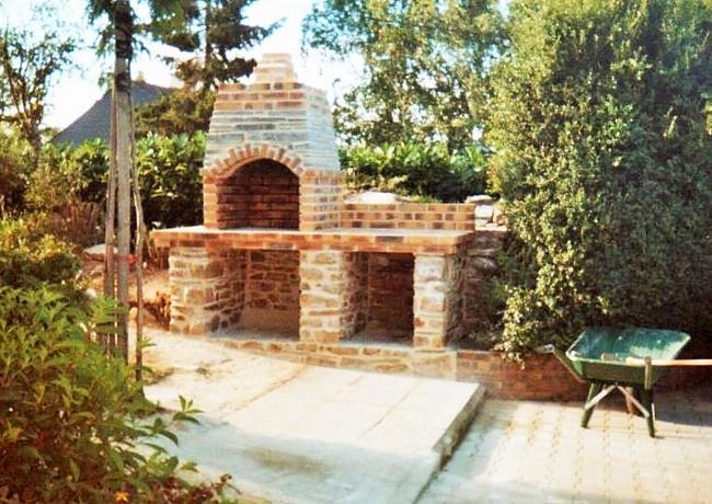 barbecue pierres et briques