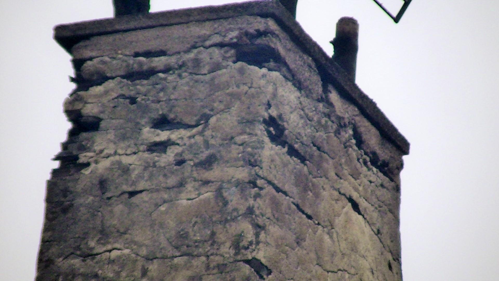 restauration cheminée (avant)