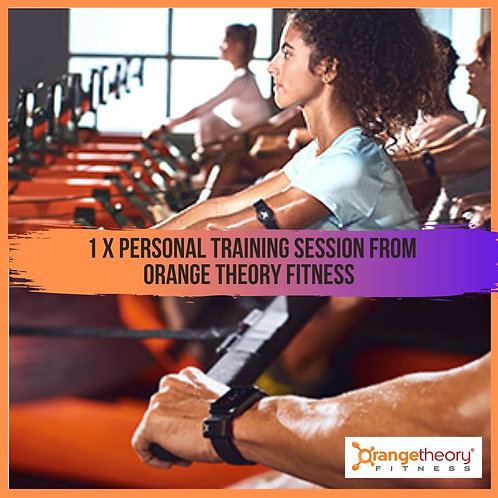Personal training session from Orange Theory Fitness
