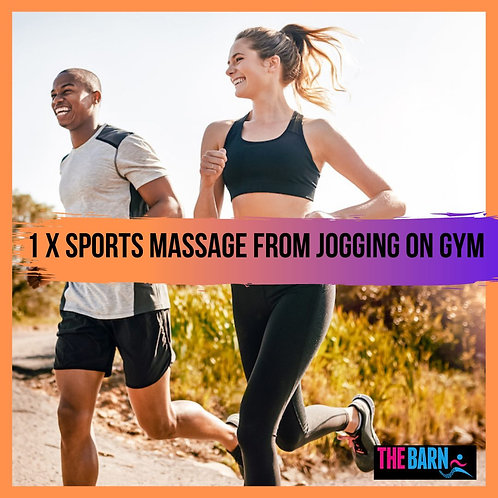 Sports Massage from Jogging on Gym