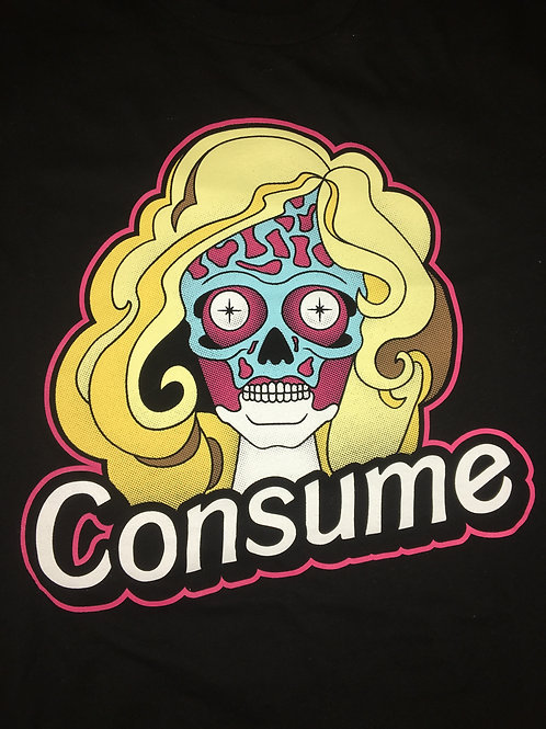 Barbie Consume Black Unisex Shirt