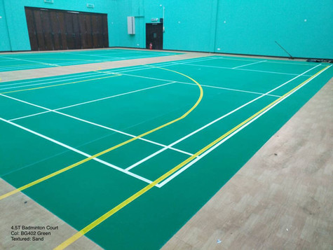 4.5mm Badminton Court