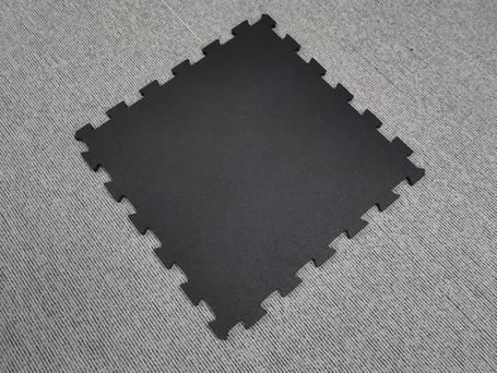 15mm Rubber Tile - Gymlock Sq