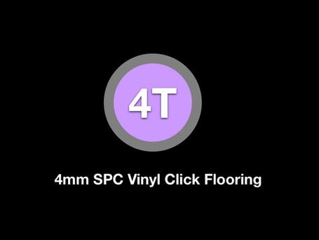 4T SPC Vinyl Click Flooring