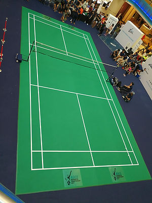 Badminton Court Mat.site
