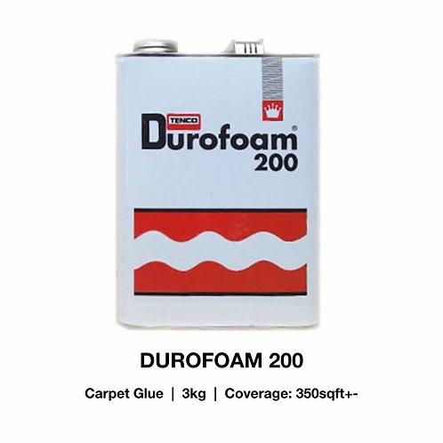 CARPET GLUE/ DUROFOAM 200 (3KG)/ KARPET GAM