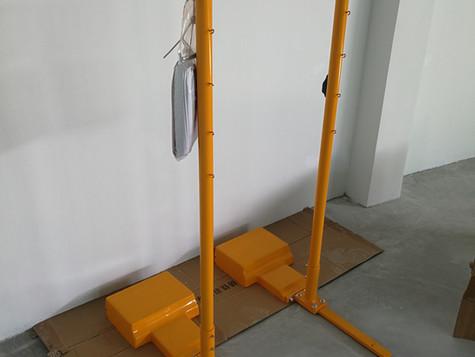 Portable Badminton Post & Net