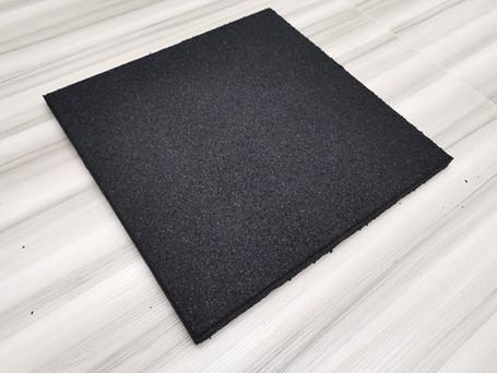 25mm Gymfit Sq-Rough Black