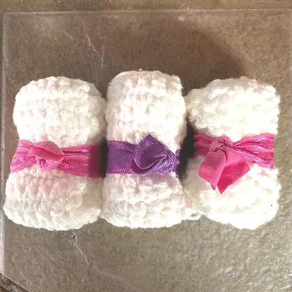Hand Knit Wash Cloth