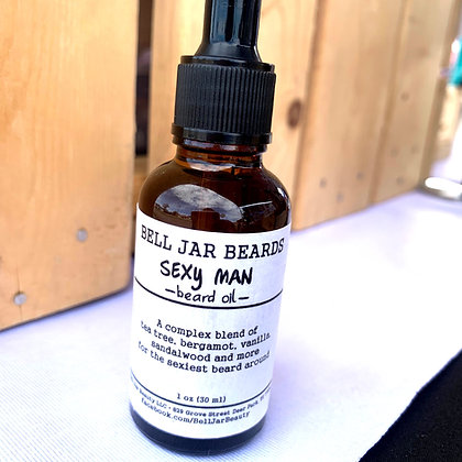 Sexy Man Beard Oil