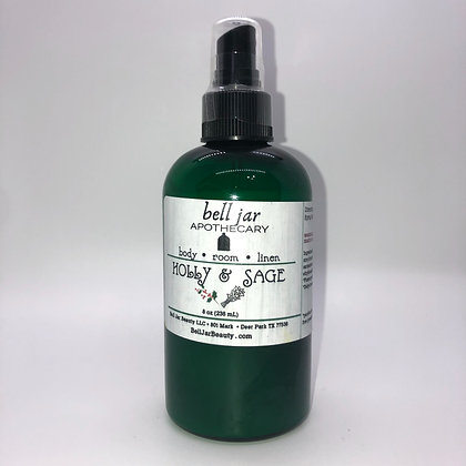 Holly and Sage Body and Linen Spray