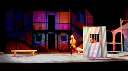 Imprisoned Malvolio