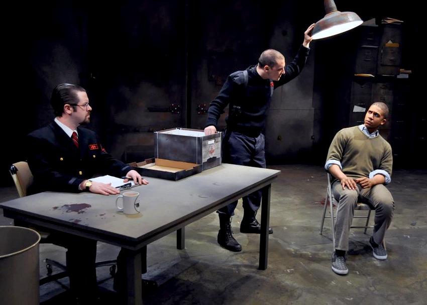 Katurian is Interrogated