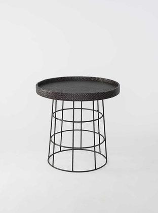Pajapa Round Table-Dark Brown(High)