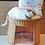 Thumbnail: Cupcake Cat Bed - Natural