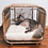 Thumbnail: Broche Pet Bed - Grey
