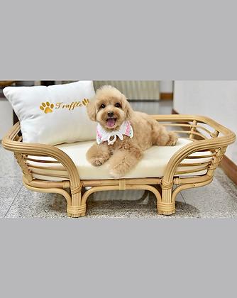 Kitkat Pet Bed (Small) -Natural