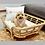Thumbnail: Kitkat Pet Bed (Small) -Natural