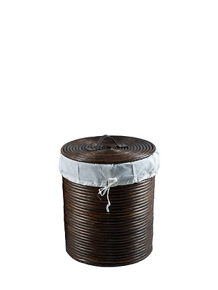 Cordoba Laundry Basket Dark Brown