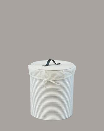 Cordoba Laundry Basket White Large