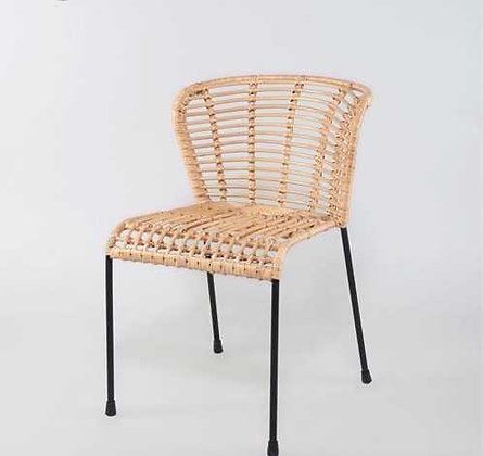 Koleji Dining Chair-Natural