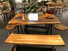 Dining set display @ Tangs