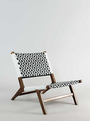Jatiplus chair (Black and white)