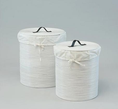 Cordoba Laundry Basket White