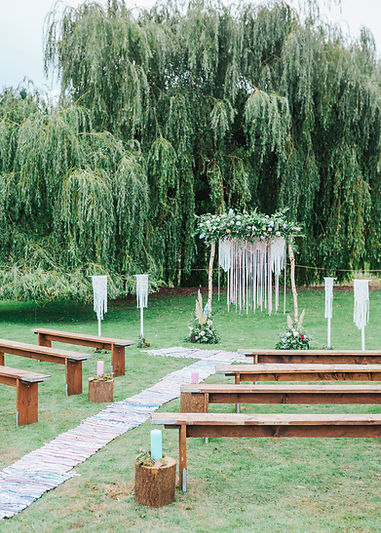 Vanstone park outdoor ceremony venue