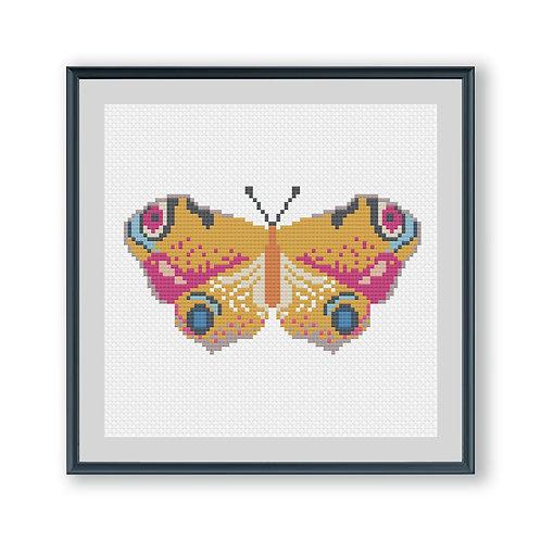 Miniature Butterfly Cross Stitch Kit