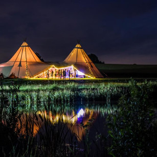 Wedding Tipi at Tip Top