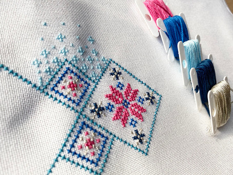 Cross stitch beginner instructions