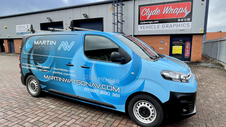 New van deco now out and about