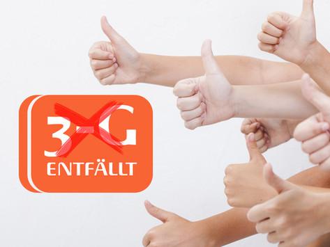 Das Ende von 3G