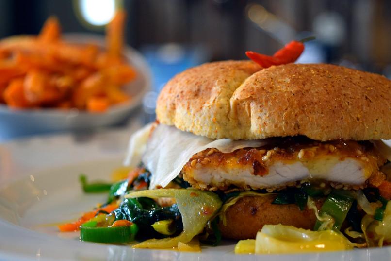 Chickenburger | Ellis Island Hameln