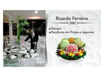 RICARDO FERREIRA ESCULTURAS EM FRUTAS