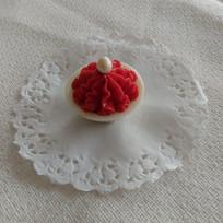 Trufado de frutas vermelhas