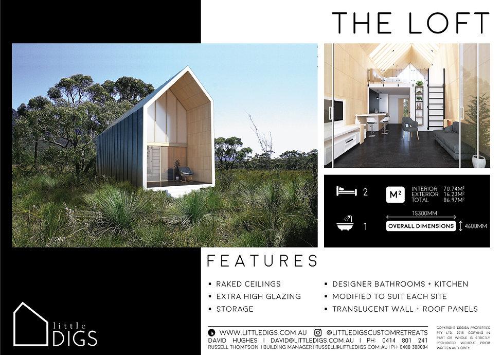 The Loft Tiny House Living One Bedroom House