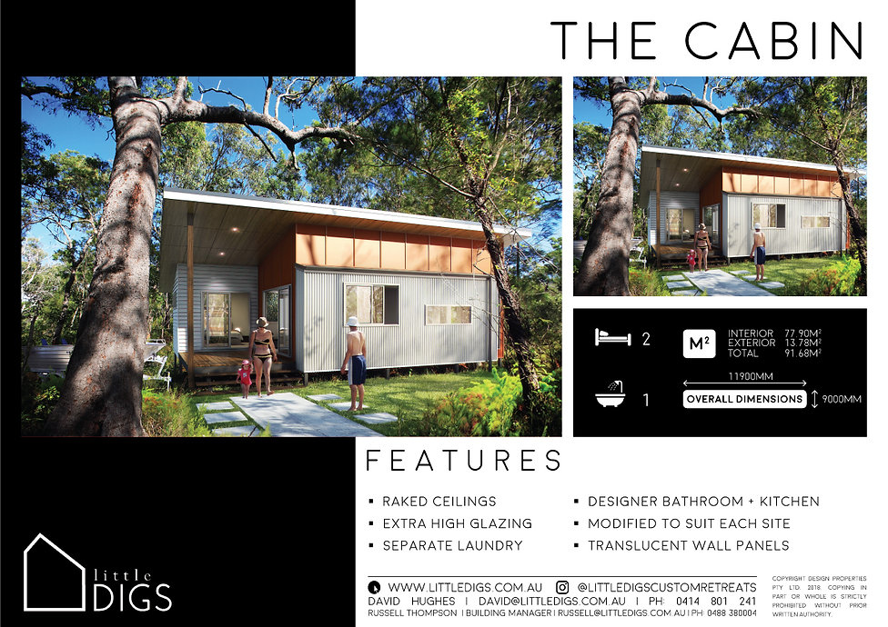 The Cabin Small House for First HomeBuyers