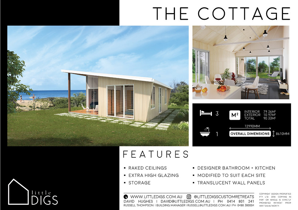 The Cottage Beach House Living