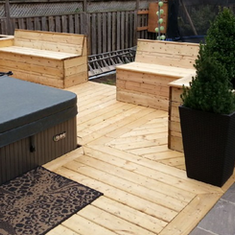 Wooden Deck-DN Decks And Fences