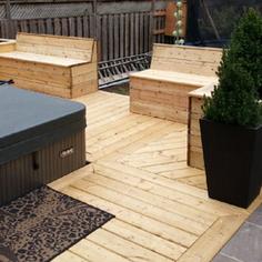 Wooden Deck-DN Decks And Fences