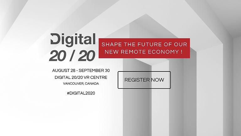 Digital 2020, Shape the Future of Our New Remote Ec