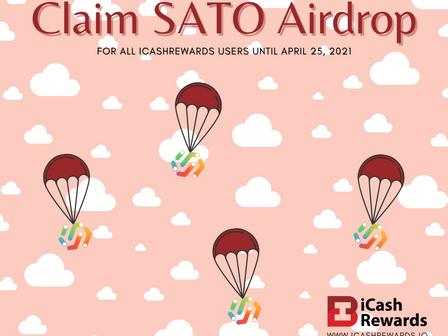 iCashRewards Community   Claim SATO Airdrop