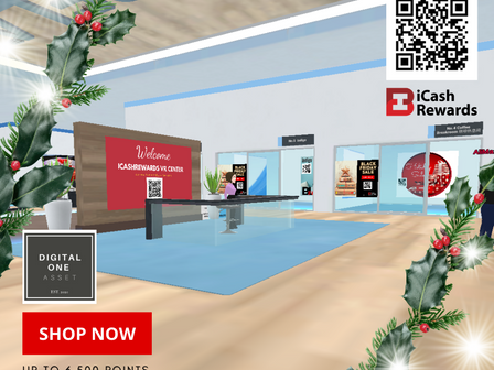 DigitalOne 3D虚拟空间     跨境社交电商全球营销联盟iCashRewards.io
