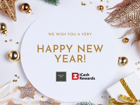 Happy New Years from Digital One & iCashRewards!