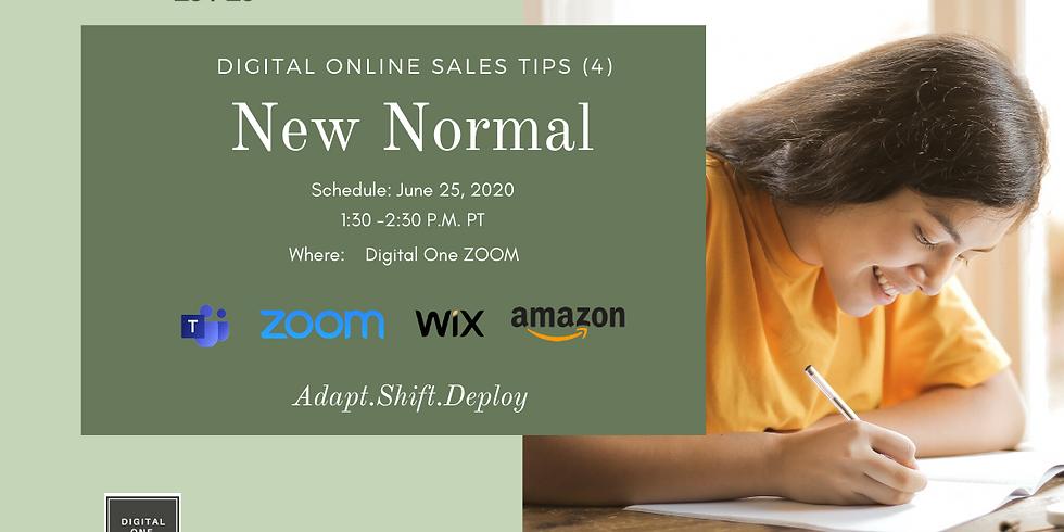 New Normal (110 Days) - Digital Online Sales Tips