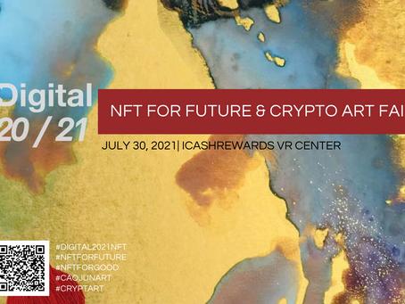 Digital 20/21: NFT For Future & Crypto Art Fair Event Guide